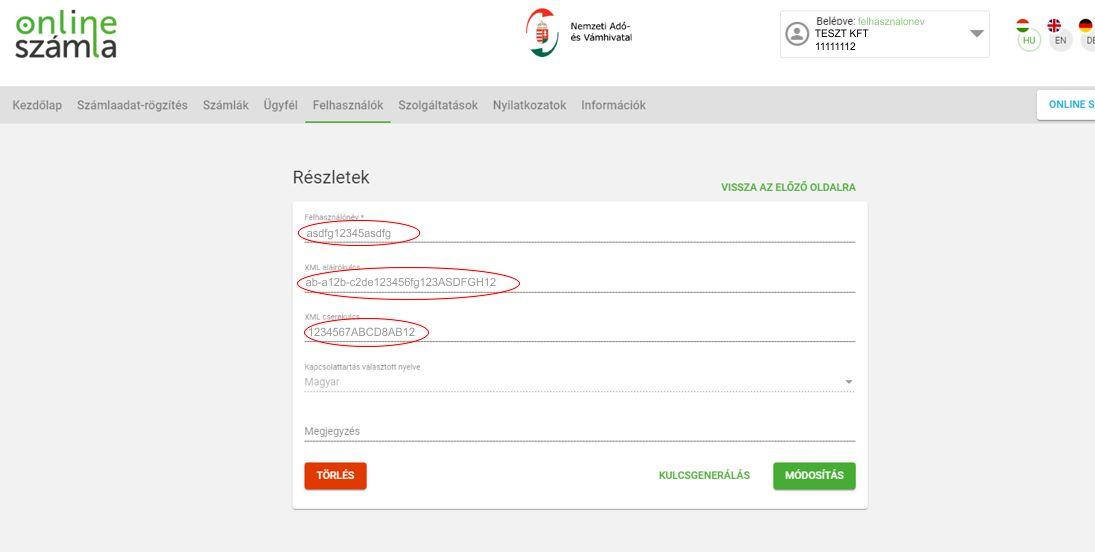 NAV Online számla regisztráció 16 lépés