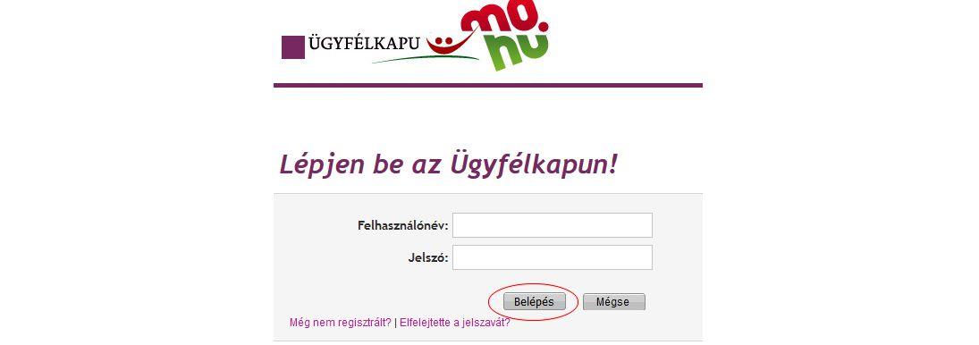 Online számla regisztráció 3 lépés